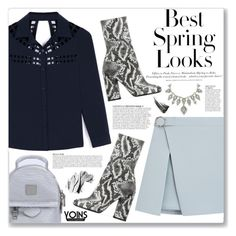"""""""yoins 99"""" by myduza-and-koteczka ❤ liked on Polyvore featuring Public Desire, Anja, H&M and Bobbi Brown Cosmetics"""