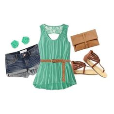 Great look for the summer!