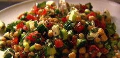 Middle Eastern Vegetable Salad By Ina Garten