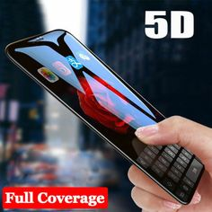 Curved Full Cover Tempered Glass Screen Protector Film For iPhone 8 7 Plus X Cool Electronic Gadgets, Phone Gadgets, Mobile Phone Price, Best Mobile Phone, Futuristic Technology, New Technology, Iphone Phone Cases, Iphone 8, Apple Iphone