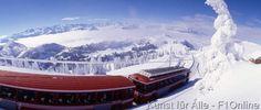 Vitznau Rigi Bahn im Winter photoplus.ch/Photo by Christof Sonderegger, Clouds, Rigi Kulm, Neige, Chemin de fer de montagne