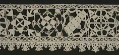 Length of Lace Italy, late 16th to early 17th century