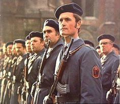 Soldiers Of Czechoslovak People`s Militia. Military Art, Military Uniforms, Army Police, Warsaw Pact, Army Surplus, Military Pictures, German Army, Guerrilla, Special Forces