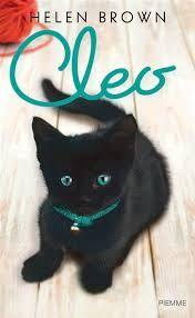 Copertine libri. Gatti neri. Cleo