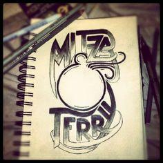 Hand Lettering by Mitza   Lilbittyfish bonafidestudio