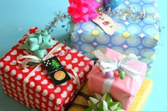 Nice gift wrapping http://barewunderbar.blogspot.no/