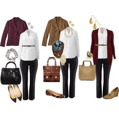 Plus Size Work Outfit Curvy Women Outfits, Plus Size Outfits, Clothes For Women, Work Clothes, Plus Size Work, Looks Plus Size, Polyvore Outfits, Polyvore Fashion, How To Wear Jeans