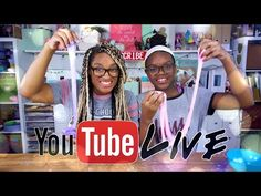 YouTube LIVE with the Froggy's | Homemade SLIME | Q&A | Updates and More - YouTube