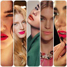 Matte lipsticks..love the coral!