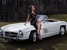 Vintage Cars, Antique Cars, Car Hood Ornaments, Mercedes Sls, Ladies Gents, Car Girls, Motor Car, Auto Motor, Girl Model