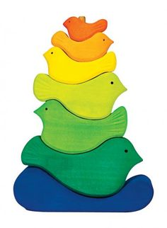 Birds Stacking Toys 14 Great Educational Baby Toys | Parenting