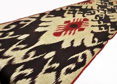 Vintage Design Ikat fabric 3 yard 100 Hand by EasternHomeDecor, $49.50