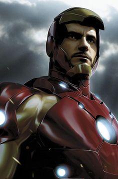 Tony Stark - Iron Man by Jeremy Roberts *