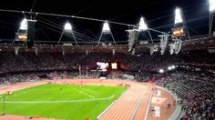 "Olympic Stadium Sings ""All you need is love"" - London 2012, via YouTube."