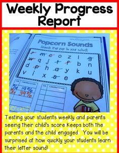 Editable Letter Sounds program:  testing your students weekly and parents seeing their child's score keeps both the parents and the child engaged.  You will be surprised at how quickly your students learn their letter sounds!  paid