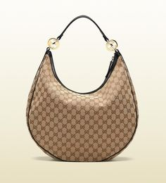 'GG twins' large hobo with interlocking G ornaments.