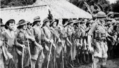 Soldiers of the Australian 39th Battalion in September 1942