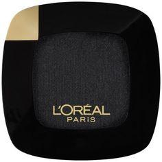 L'Oreal Paris Colour Riche Monos Eye Shadow, Noir Cest Noir, 0.12 Oz
