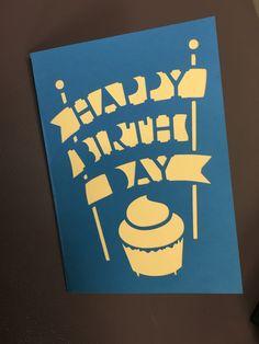 Birthday Card - Cupcake