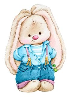Tatty Teddy, Cute Images, Cute Pictures, Lapin Art, Easter Bunny Pictures, Simple Poster, Bullet Journal Art, Bunny Crafts, Craft Ideas