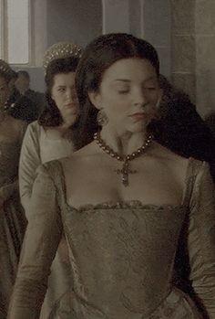 Natalie Dormer as Anne Boleyn in The Tudors