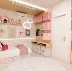 Inspiração quarto de menina. #habitacionadolescentes