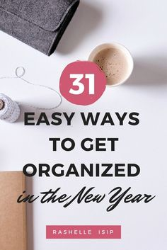 Thinking about getting organized at home and work? The good news is that you don't have to spend countless hours putting things in order. These organizing, planning, and decluttering exercises will help you build a more organized and balance life, step by step!