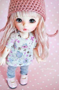 Momo - PukiFee Ante - Explored - | Flickr - Photo Sharing! Tiny Dolls, Blythe Dolls, Barbie Dolls, Dolls Dolls, Pretty Dolls, Beautiful Dolls, Little Doll, Little Girls, Cute Baby Dolls