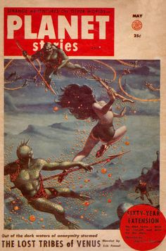Comic Book Cover For Planet Stories v06 06