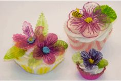 How to make gelatin flowers