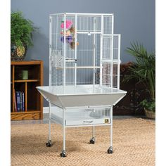 Prevue Pet Products Park Plaza Small Bird Cage | from hayneedle.com