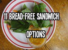 11 Bread-Free Sandwich Options