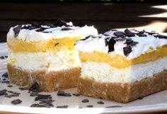 Egy egyszerű pudingos vagy túrós sütemény is isteni finom, de ha ötvözzük a kettőt, még szuperebb ízhatást érhetünk el. A lényeg, legyen minél krémesebb! My Recipes, Vanilla Cake, Tiramisu, Breakfast Recipes, Cheesecake, Food And Drink, Sweets, Snacks, Cookies