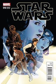 Marvel Comics Star Wars (2015) #16 1st Printing Stuart Immonen Variant Cover *Description: 'REBEL JAIL' STARTS NOW! The Rebels travel to a prison base having taken an important captive in VADER DOWN.