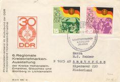 Lichtenstein Briefmarkenausstellung nach Amsterdam