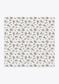 Cardstock Paper  Flowers Pattern no. 3  6X6 sheet Craft by Limick