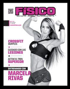 Marcela Rivas portada Revista Fisico mas en www.revistafisico.com