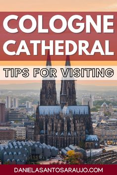 Are you thinking about visiting the beautiful Cologne Cathedral, a UNESCO World Heritage Site in the North Rhine-Westphalia region, Germany? This impressive Cathedral in Gothic style is definitely the most famous landmark in the city of Cologne! | Germany travel tips | Germany travel | Germany | Cologne | Cologne Cathedral | Ultimate Germany bucket list | Best places to visit in Germany | Where to go in Germany | Ultimate Germany itinerary | Best things to do in Germany | Ultimate Germany… Cities In Germany, Visit Germany, Cities In Europe, Germany Travel, Germany Photography, Travel Photography, Europe Travel Tips, Travel Guide, Best Beaches In Europe