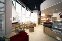 Coffeeshop rendering.