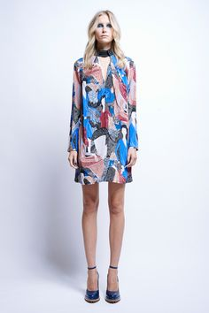 Sapphire Tab Dress - All Items | Karen Walker