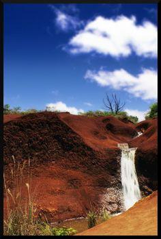 Red Dirt - Waimea Canyon - Kauai, Hawaii