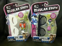 Some Awesome Regular Show Goodies,figures & wearable 80's shades.ooooooooooooooaaaaaaaaaaooooohhhhhhhhh!