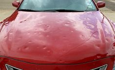 #DenverAutoHailRepair... #Repairing #HailDamage to your #Car in #Denver