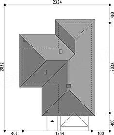 Projekt domu Nela V 137,4 m2 - koszt budowy - EXTRADOM House Plans Mansion, Architectural House Plans, House Design, How To Plan, Architecture, House Styles, Case, Houses, Ideas