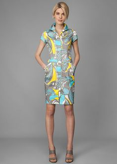 Lafayette Designer Clothing For Women Ibiza Print Shaylee Dress