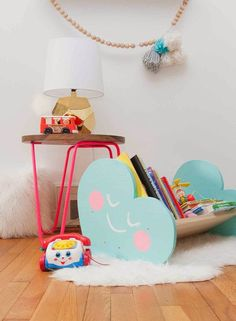 the boo and the boy: on display in kids' rooms