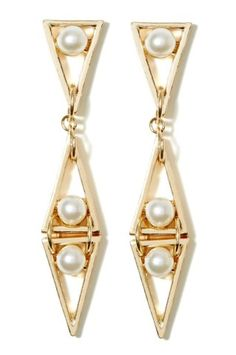 Love Triangle Earrings | Shop Accessories at Nasty Gal