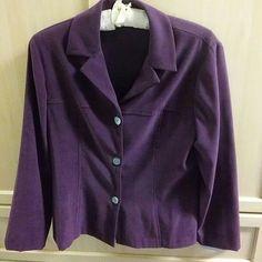 Purple blazer Dressy jCket no lining. lizzatti Jackets & Coats Blazers