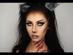 Halloween Werewolf Makeup Tutorial ● Bella Makeup