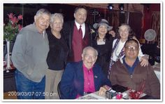 Joe Louis, Tomasita, David, Betty Ann, Martha, Junior & Armando-This picture was taken at weding of David Jr. in Albuquerque.  Photo contributed by Junior (J.D.) Medina.